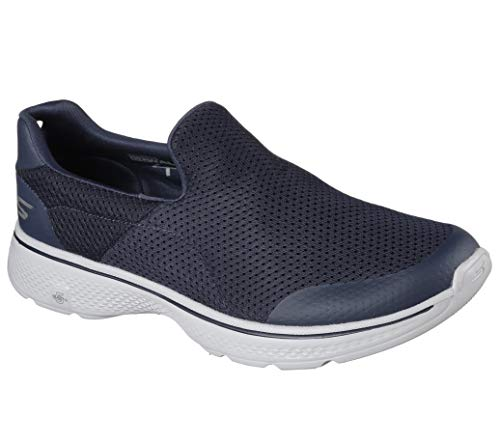 Skechers Performance Men's Go Walk 4 Incredible Walking Shoe, Navy/Gray, 8 3E US
