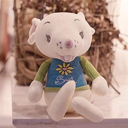 Stuffe'd & Plush Animals - Year of the Mouse plush toy plush stuffe'd doll squeak mouse fashion mouse doll furniture decoration soft fabric comfortable (green) LATT LIV