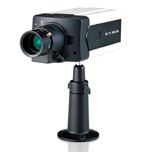ICY BOX IB-CAM2001 IP-box camera indoor 1.3MP 720p dag nachtfunctie H.264 MPEG-4 MJPEG 2-weg audio PoE ONVIF compatibele software