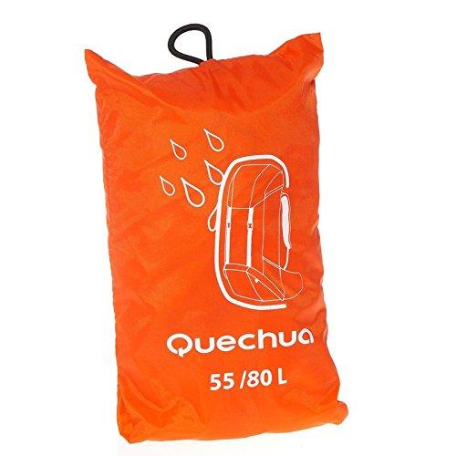 Quechua Schutzhülle Regenschutz für Rucksack 55–80Liter