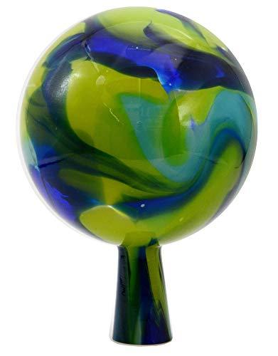 VAL - Voralpenland Glashütte blau/grün Ø 15 cm Rosenkugel