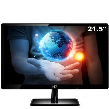 "Monitor Led 21.5"" Full HD Widescreen HQ 22 HQ-Led HDMI 75hz preto"