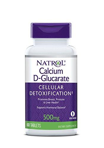 Natrol Calcium D-Glucarate 500 mg (60) Standard, 30 g