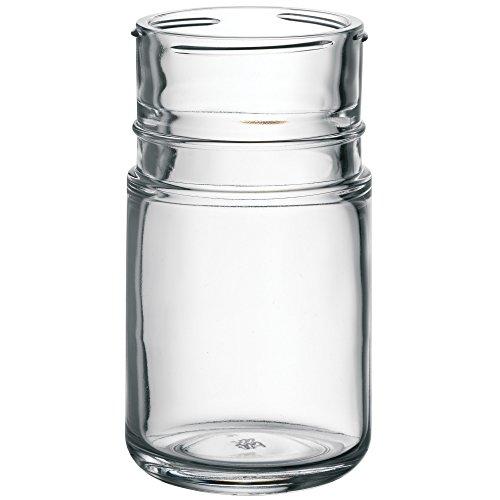 WMF Basic + Barista Ersatzglas zu Sirup-/Honigspender, Zuckerdosierer, Sahnedosierer, Schokostreuer, Glas, spülmaschinengeeignet