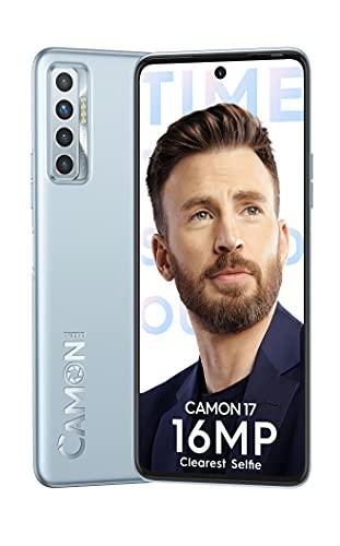 Tecno Camon 17 (Frost Silver, 6GB RAM, 128GB Storage)| 64MP Quad Camera | Professional Video| 6.8″ FHD
