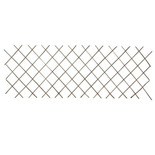 Tidyard 5X Rankgitter Weide Spalier Rankhilfe Gitter 5 Stücke Rankgitter aus Weide Spalier Rankhilfe Pflanzengitter 90 x 180 cm als Sichtschutz oder Dekoration