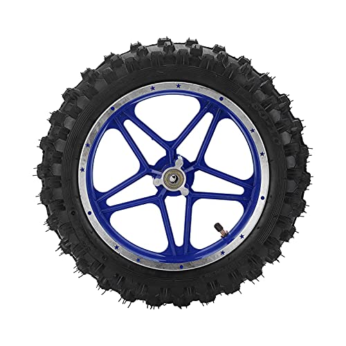 LIXFDJ Rueda de freno de disco delantero de 2,5 pulgadas, rueda de bicicleta de repuesto antideslizante para 47 cc 49 cc 2 mini bici de la suciedad