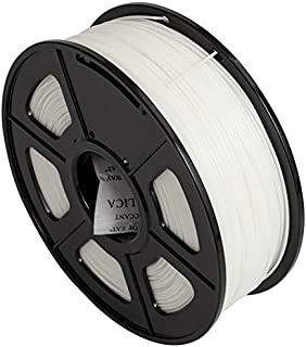 CC DIY - PLA+ 3D Printer Filament 1.75mm 1kg Spool Dimensional Accuracy +/- 0.02 mm (White)