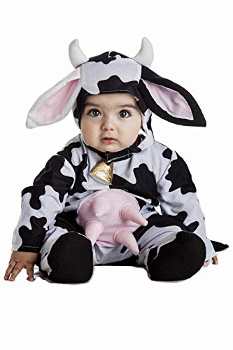 Disfraz Vaca Bebe Talla 1-2 Años
