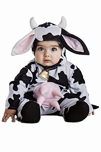 Disfraz Vaca Bebe Talla 1-2 Aos