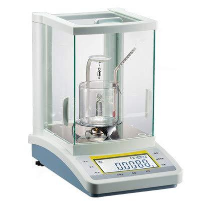 Hanchen 0.1mg Balanza de Densidad para Líquidos / Sólidos Báscula Analítica de Alta Precisión 100g / 200g / 210g (200g/0.1mg)