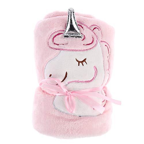 XINGSd betaalbare deken Kids deken schattige eenhoorn cartoon deken, flanel deken - pluche bed/kinderbed/baby kinderwagen/wieg, zachte Cozy microfiber Solid