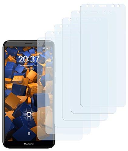 mumbi Schutzfolie kompatibel mit Huawei Mate 10 Lite Folie klar, Bildschirmschutzfolie (6X)