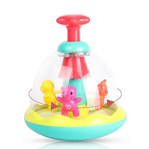 Eeneme Presione y gire el juguete del vaso de los niños juguetes del vaso para el regalo de