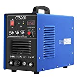 VIVOHOME 3 In 1 Multi-functional Plasma Cutter Cutting TIG STICK/MMA Welding Machine Dual Voltage 110/220V CT520D Blue