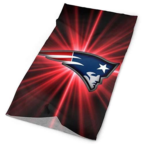 zjipeung New England Patriots Nahtloser multifunktionaler Kopfbedeckungs-Bandana-Schal