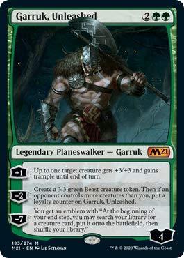 Magic: The Gathering - Garruk, Unleashed - Core Set 2021