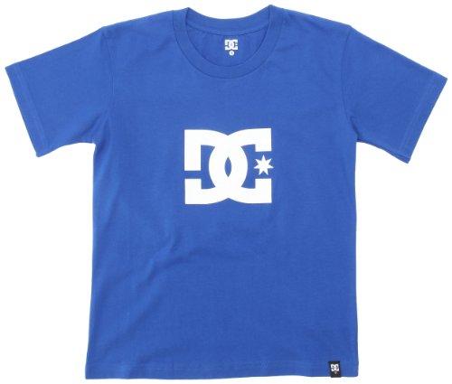 DC Shoes Star - T-Shirt Manches Courtes - Uni - Coton - Garçon - Bleu (Olyblu) - L