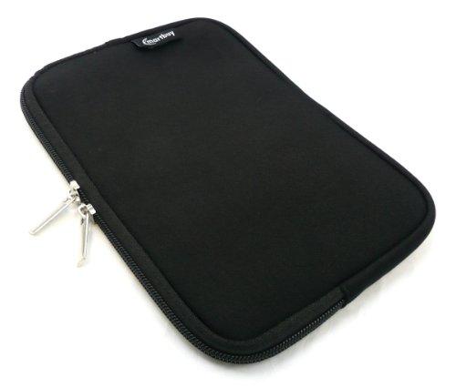 Emartbuy® Cat Helix Tablet PC 8 Zoll Schwarz Wasserfest Neopren weich Zip Tasche Hülle Sleeve (8 Zoll Tablet)