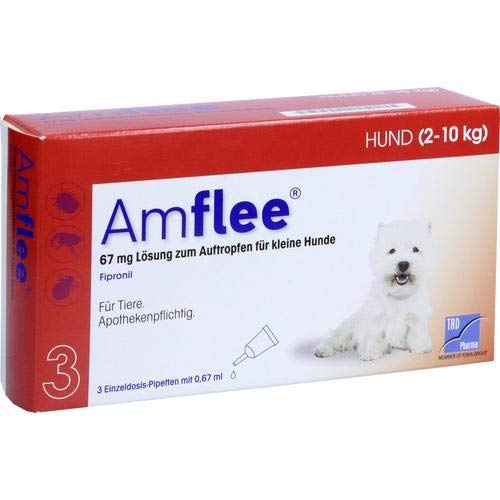 Amflee Spot-on Hund - 67 mg - 3 Pipetten