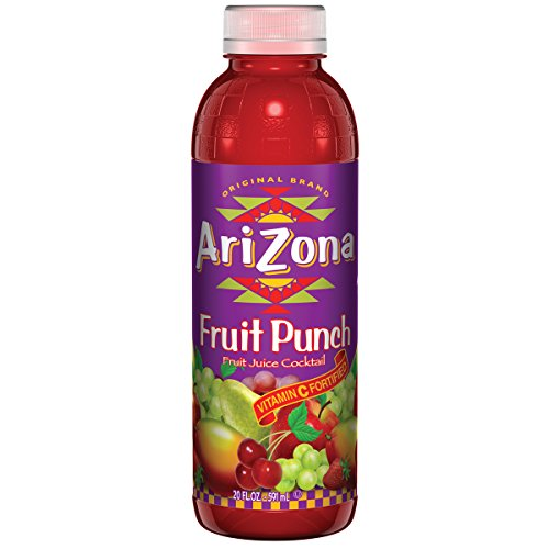 Arizona Fruit Punch, 20 Ounce (Pack of 24)