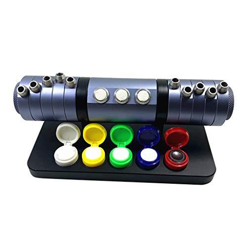 Nobranded Reloj Kit de Reparación Aceitera Aceite Pin Pluma Soporte Almacenamiento para Relojero - Gris