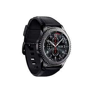 """Samsung Gear S3 Frontier - Smartwatch Tizen (pantalla 1.3"""" Super AMOLED 360x360, GPS integrado, batería 380 mAh, altavoz integrado), color Gris (Space Gray)- Version española"""