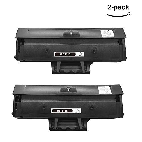 ONINO 2pcs Toner Kompatibel Samsung MLT-D111S Toner Für Samsung Xpress M2020W SL-M2022 SL-M2026 M2026W SL-M2070 M2070W 2070F SL-2023 2023W Schwarz
