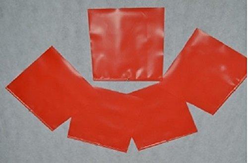30 Stück Endfahne Schlussfahne Rot 30 x 30 cm Warnflagge überstehende Ladung