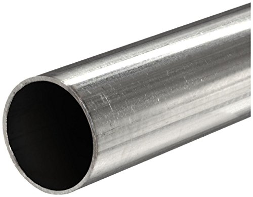 Stainless Steel 316L Seamless Round Tubing 0.027 ID 12 Length 1//8 OD 0.049 Wall