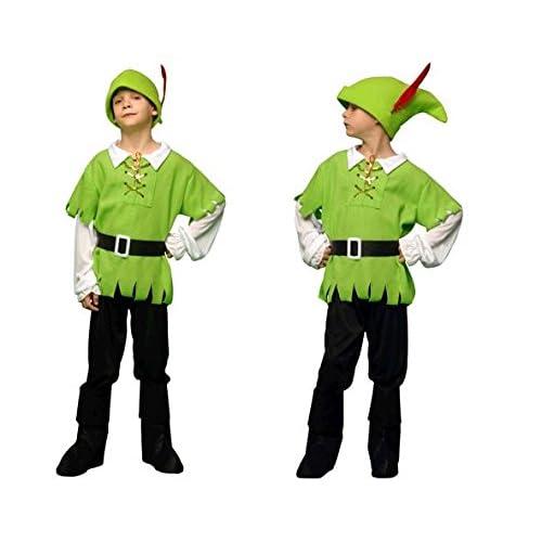 Boys Toys - Disfraz de arquero para niño, talla 5-6 años (STDO4/6 ...