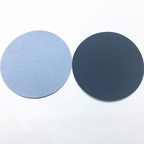 STEDMNY Schleifpapier 20ps 74-80mm Wasserschleifpapier 3inch Körnung 800-2000 Schleifscheiben Klettschleifpapier Rundschleifpapier Scheibenschleifblatt