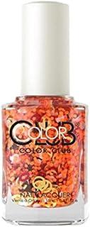 Color Club Nail Lacquer Nailmoji, Neon Smh, 0.5 Fluid Ounce
