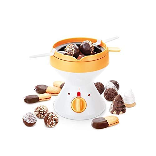 Tescoma Delicia Fondue de Chocolate, Crema, 14 x 14 x 19,8 c