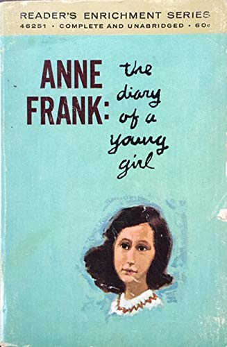 Anne Frank: The Diary of a Young Girl Reader's ... B000PH2IM6 Book Cover
