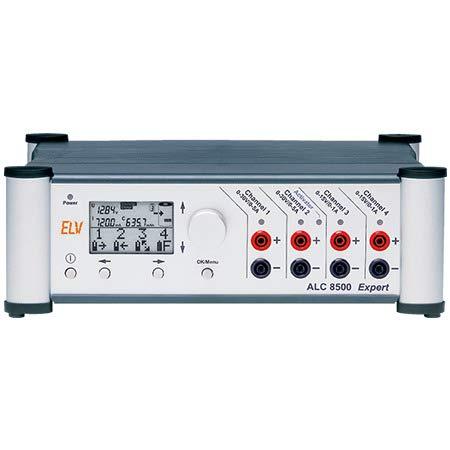ELV Akku-Lade-Center ALC 8500-2 Expert (Software, Vierleiter-Ri-Messkabel, Temperaturfühler, USB)