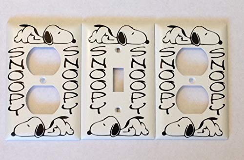 Snoopy Switch plate/Outlet Cover