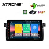 XTRONS 9' Autoradio mit Touch Screen Android 9.0 Quad Core Multimedia Player Autostereo unterstützt 4G WiFi Bluetooth5.0 Auto Musik Streaming 2GB 16GB DAB & OBD2 FÜR BMW/Rover/MG