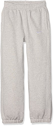 Nike Kinder Team Club Cuffed Pant Jogginghose Hose Team Club Cuff, Mehrfarbig (Multi-Coloured - Grey Heather/Football White), L