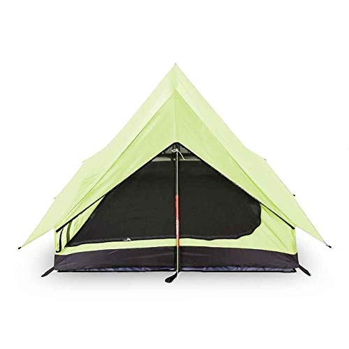 Mdsfe Outdoor Tent Pole Less Portable A-shaped Camping Tent Ultra LightTents Outdoor Camping Outdoor Equipment Camping Supplies-Beige