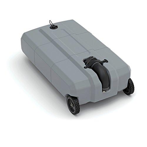 SmartTote 2 Portable RV Waste Tote Tank - 2 Wheels - 27-Gallon Capacity - Thetford 40502