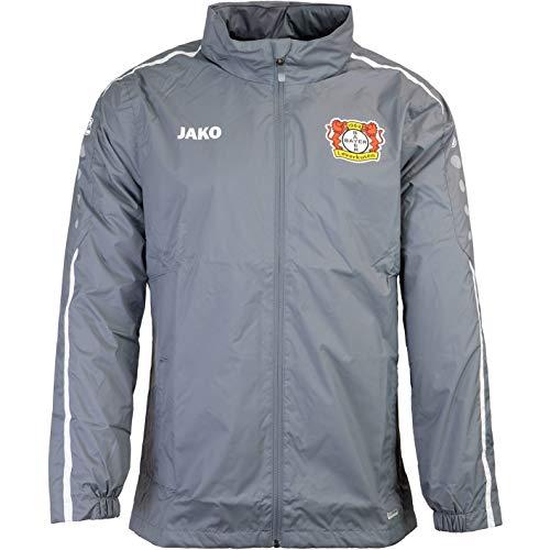 Jako Bayer 04 Leverkusen Veste imperméable, gris/blanc, xl