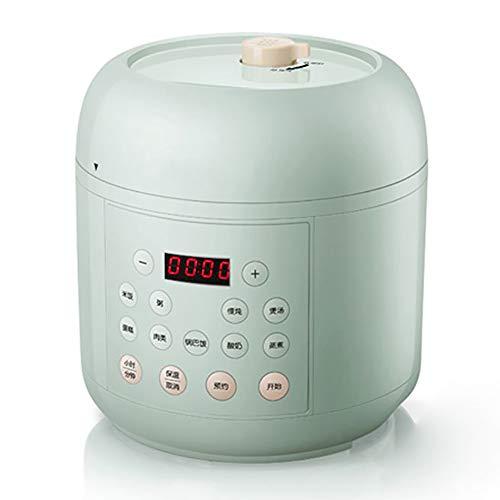 XIAOFEI Instant Pot Riz Cuisinier Autocuiseur Électrique Garder- Chaud Fonction Santé Multi- Fonction Électrique Pression Cuisinier Programmable 2L