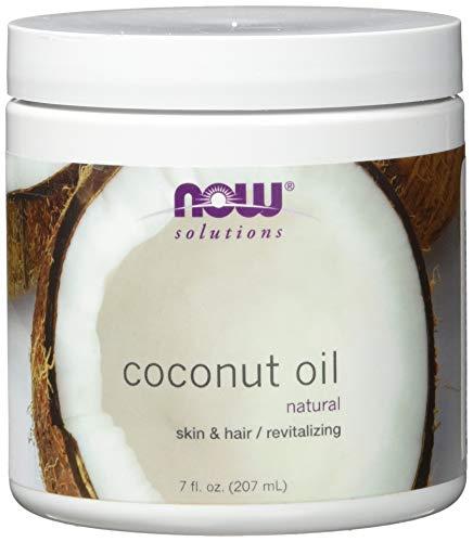 Huile de coco, naturel, 7 fl oz (207 ml) - Now Foods