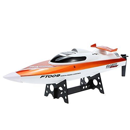 Goolsky FT009 Barco de Carreras RC 2.4G 30km / h Alta Celocidad Enfriamiento de Agua Auto Enderezado Sistema