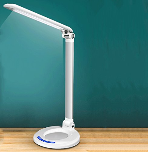 CCLL Aprendizaje de Estudiantes con LED Lámpara de Escritorio para Lectura Dormitorio para niños Dormitorio Lámpara de cabecera Oficina de Trabajo Multi ángulo Cuidado de la Vista Reading Lamp