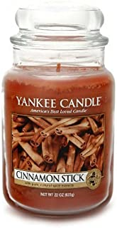 Yankee Candle Large 22-Ounce Jar Candle, Cinnamon Stick by Yankee Candle [並行輸入品]