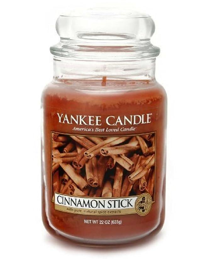 詩罹患率義務づけるYankee Candle Large 22-Ounce Jar Candle, Cinnamon Stick by Amazon source [並行輸入品]