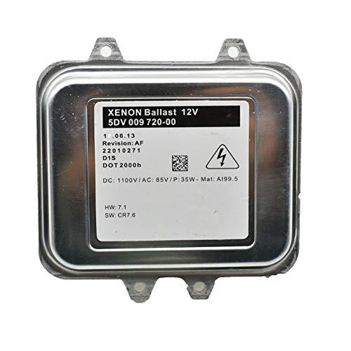 HXFANG Neue Xenon Ballast Control Unit passend for Opel Astra J Insignia 5DV009720-00 5DV 009 720 00 1232335