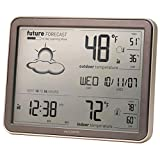 AcuRite 75077 Wireless Weather Forecaster with Remote Sensor and Atomic Clock